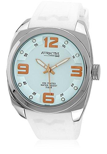 Q&Q Analog White Dial Men's Watch - DB28J304Y