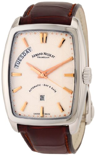 Armand Nicolet Men's 9630A-AS-P968MR3 TM7 Classic Automatic Stainless-Steel Watch