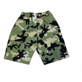 Boys Designer Green Army Camoflage Swim Surf Board Shorts Swimming Trunks Age 3-4 Years