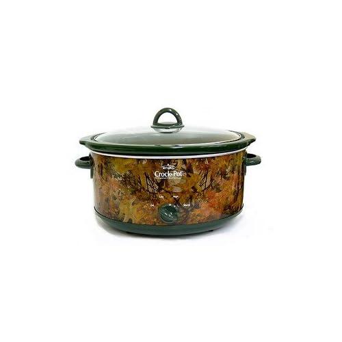 Qt Camo Crock-Pot - SCV552-CM: Slow Cookers: Kitchen & Dining