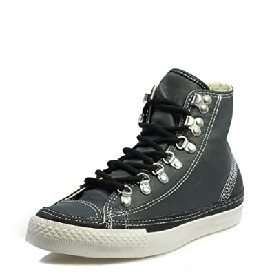 Buy Converse CT Hiker Hi Unisex Charcoal Black Textile Trainers by Converse