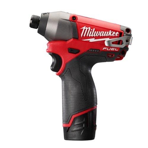 "Milwaukee 2453-22 M12 Fuel 1/4"" Hex Impact Driver Kit"