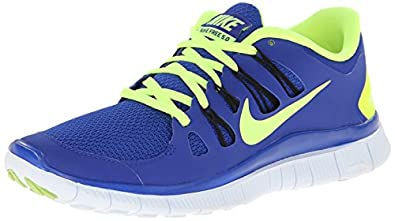 Nike Free 5.0+ Running Shoes - 7 - Blue