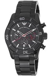 Emporio Armani Men's AR5931 Sportivo Black Chronograph Dial Watch