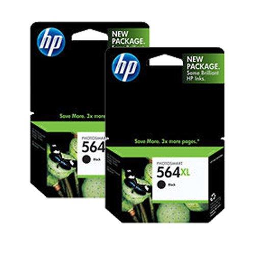 Hp 564Xl Cn684Wn#140 Ink Cartridge 2-Pack In Retail Packaging-Black