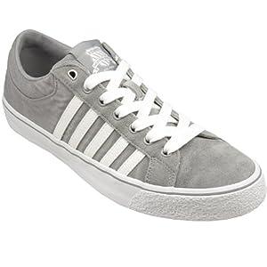 Mens K-Swiss Mens Adcourt LA WSDE-CVSVNZ in Grey White - UK 8.5