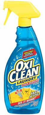 Oxi Clean Laundry Stain Remover Spray, 21.5 Ounce (Pack Of 12)