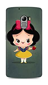 Amez designer printed 3d premium high quality back case cover for Lenovo K4 Note (Cute Girl)