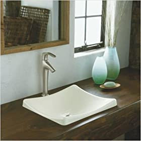 DemiLav Wading Pool Vessel Sink Finish: White