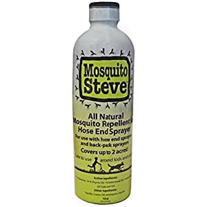 Mosquito steve all natural mosquito repellent - Natural insect repellent for gardens ...