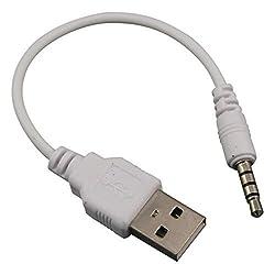SmartEra High Quality 3.5mm Male Jack to USB 2.0 Audio Plug Converter (White)