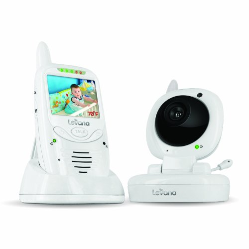 41v7VJ7lZZL Online Levana Jena Digital Baby Video Monitor with 8 Hour Rechargeable Battery and Talk to Baby Intercom