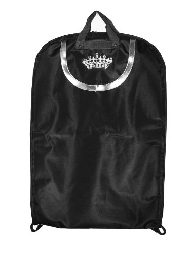Black Lexington Crown Embroidery Gown Length