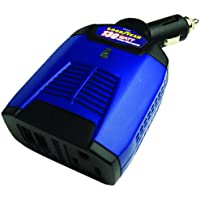Goodyear GY3210 130W Watt Inverter Generator with AC Outlet and 2 USB Ports (Blue)