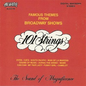 Famous Themes from Broadway Sh One Hundred One Strings Alshire