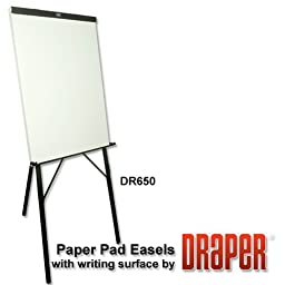 DR650 Paper Pad Easel w/ Dry-Erase Writing Whiteboard from ABC Office