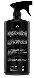 Windshield Rain Repellent - Glass Treatment Causes Water to Bead, Increased Visibility While Driving Car, Truck, Boat, SUV, RV. 18oz - TriNova by TriNova