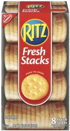 Ritz Cracker Fresh Stacks 12.73 Oz. Includes 8 fresh Stacks (2 Pack) Picture