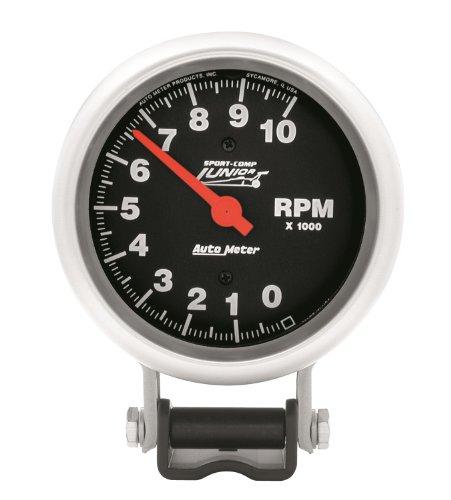Auto Meter 2096 Prestige Black 3-3//8 0-8000 RPM Tachometer Gauge