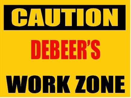 6-caution-debeer-work-zone-magnet-for-any-metal-surface
