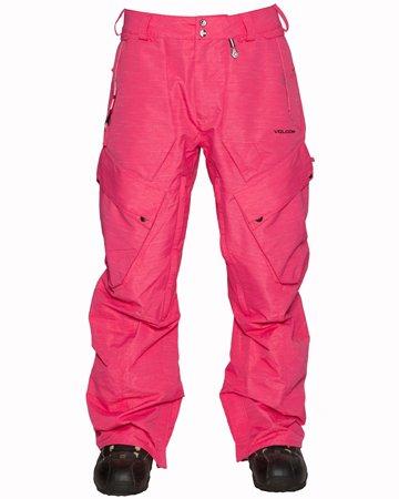 Volcom Compliment Pant - Color:Magenta - Talla:M - 2014