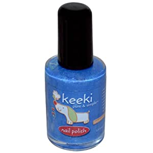 Nail Polish, Blue Slushie, 0.5 fl oz (15 ml) by Keeki Pure & Simple