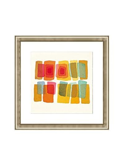 "Art Source Watercolor Color Block Print I, Multi, 22"" x 22"""