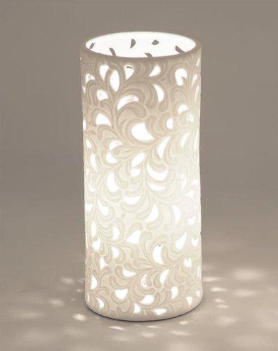 Lampe-Rund-Romantik-10-x-23cm-kleine-Ausfhrung