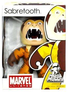 Marvel Mighty Muggs Series 6 Vinyl Figure Sabretooth