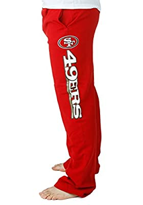 Majestic mens San Francisco 49ers NFL Sweatpants