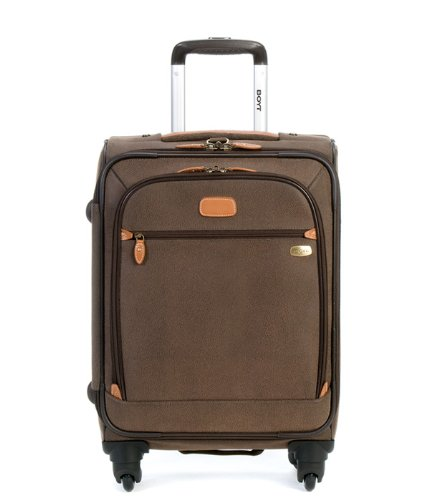 Boyt Luggage Edge 22 Inch Expandable Spinner, Brown, One Size