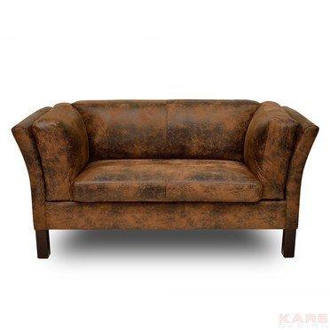 KARE Sofa Canapee 2-Sitzer Vintage Eco