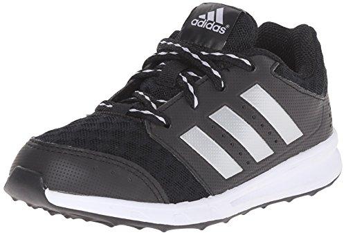 adidas Performance LK Sport 2 K Shoe (Little Kid/Big Kid),Black/Metallic Silver/Black,5 M US Big Kid (Adidas Shoes For Big Boys compare prices)
