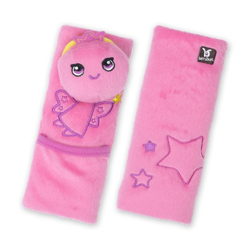 Benbat 2 Count Pals Seatbelt Protector, Fairy, 1-4 Years