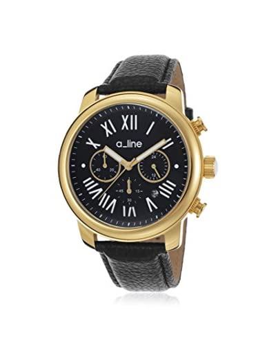 a_line Women's Amor Black Stainless Steel Watch