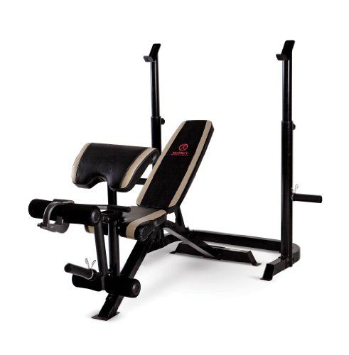 Marcy Olympic 2 Piece Weight Bench front-1009513