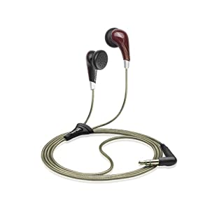 Sennheiser MX 471 In-Ear Stereo Headphones with LiveBass (Red)(Ergonomic Fit)