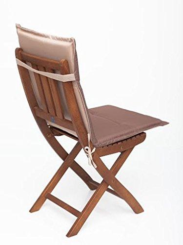 Sitzkissen, Stuhlkissen, Stuhlauflage für Gartenmöbel & Gartenstuhl jetzt bestellen