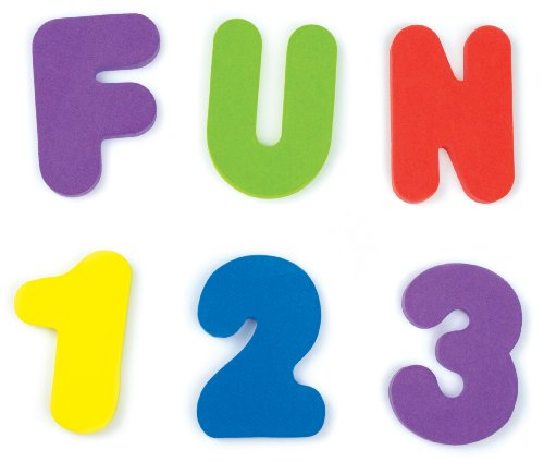 Munchkin Letters and Numbers Bath Toys, 36 Count Abc Bath