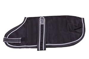 Eous Light-Weight Dog Blanket, Black, XX-Large