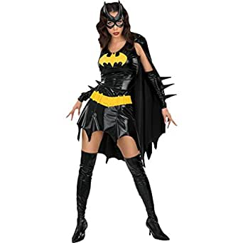 B-JOY Women's Marvel Super Hero Costume Supergirl Batgirl Bustier Costume