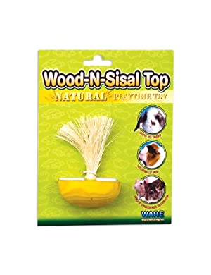 Click to read our review of Rabbit Toys: Ware Manufacturing Wood-N-Sisal Top
