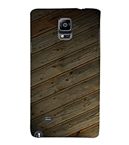 EPICCASE Woody case Mobile Back Case Cover For Samsung Galaxy Note 4 EDGE (Designer Case)