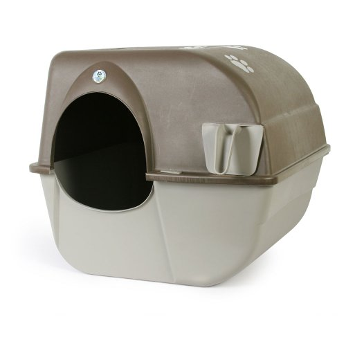 Omega Self Cleaning Cat Litter Box
