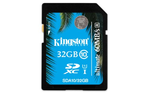 Kingston SDA10/32GB Class 10 SDXC