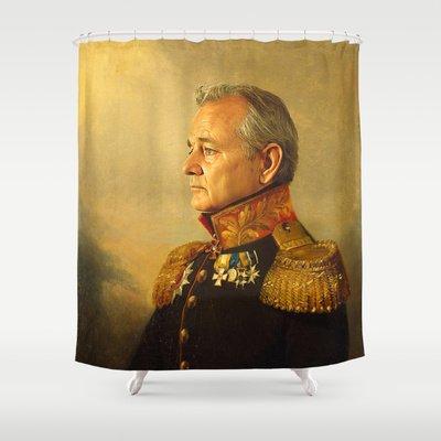 Bill Murray Shower Curtains