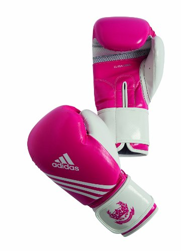 adidas Boxing glove Fitness pink (Size: 10 oz)