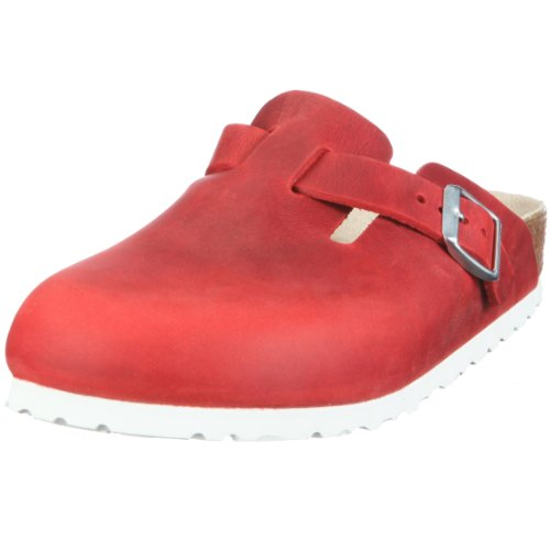 Birkenstock Boston Fettleder,