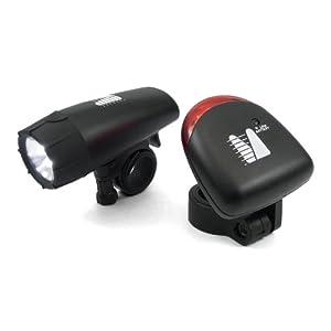 Mertrado LED Leuchten Set (2-teilig), schwarz, 112282