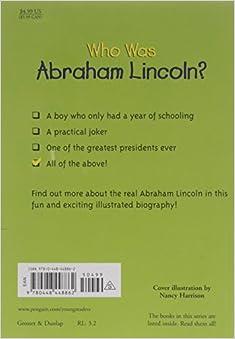 Who Was Abraham Lincoln?: Janet Pascal, Nancy Harrison, John O'Brien